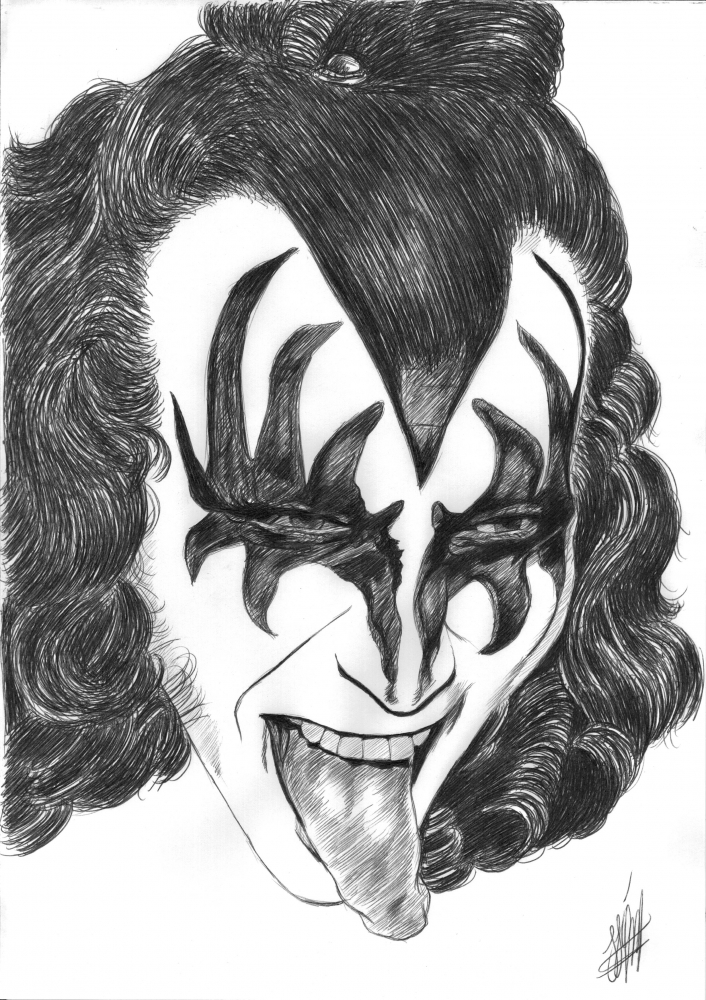 Gene Simmons by jjg2018